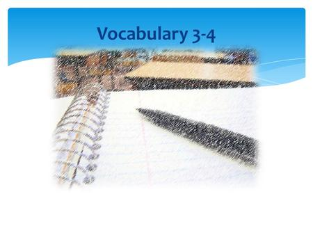 Vocabulary 3-4. New Vocabulary Word: repay What word?