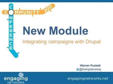 New Module Integrating campaigns with Drupal Warren