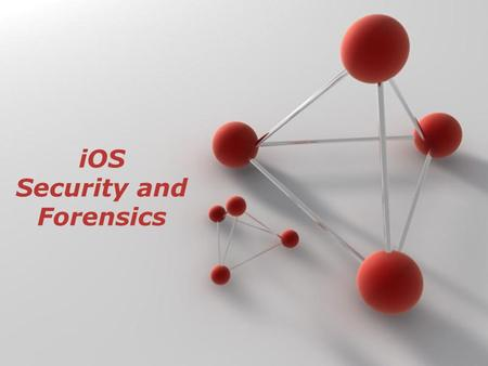 Security and Forensics