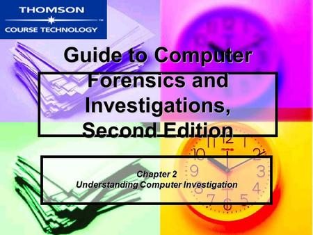 Guide to Computer Forensics and Investigations, Second Edition Chapter 2 Understanding Computer Investigation.