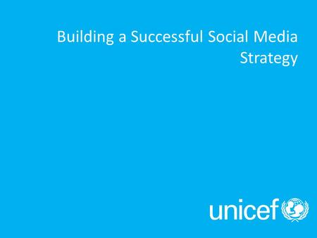 Building a Successful Social Media Strategy. Social Media: Why should I care?