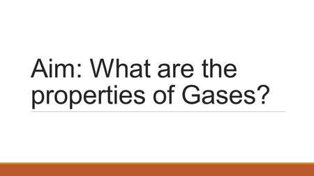 Aim: What are the properties of Gases?. Compressibility Compressibility is measure of how much volume decreases under increased pressure. Gases are easily.