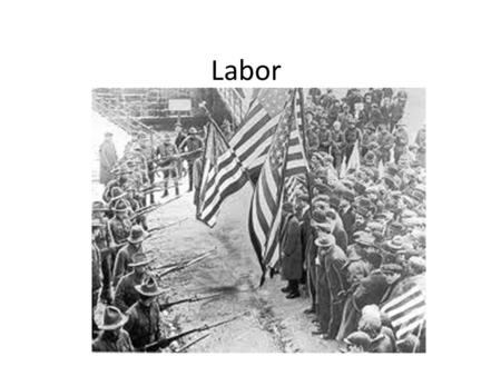 Labor. Review: Causes of Ind. Rev. Large supply of natural resources (forest = lumber, whale blubber = oil/fuel) Large population, increase of immigrants.