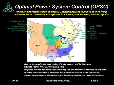 Optimal Power System Control (OPSC)