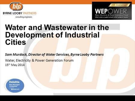 Water and Wastewater in the Development of Industrial Cities