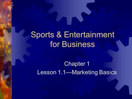Sports & Entertainment for Business