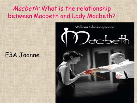 the relationship between machbeth and lady To what extent did the relationship between macbeth and lady macbeth contribute to macbeth's downfall in macbeth, what does lady macbeth compare macbeth's face to in macbeth, what happens to lady macbeth in macbeth, what does lady macbeth want.