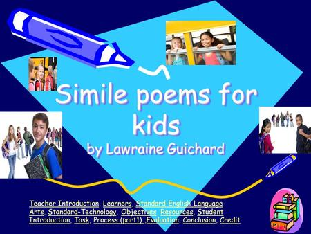 Simile poems for kids by Lawraine Guichard