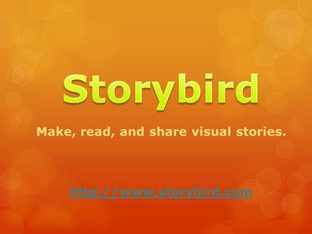 Make, read, and share visual stories.
