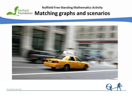 Matching graphs and scenarios