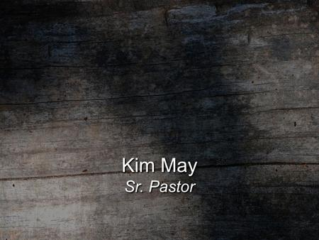 "Kim May Sr. Pastor. ""Remember the Poor"" ""All they asked was that we continue to remember the poor…"" Galatians 2:10."