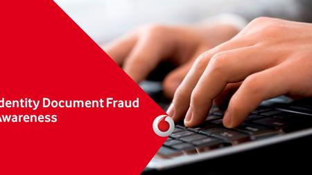 Identity Document Fraud Awareness