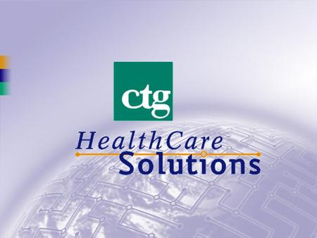HIPAA Security John Parmigiani Director HIPAA Compliance Services CTG HealthCare Solutions, Inc.