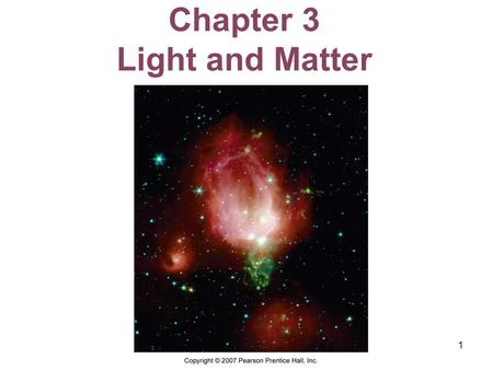 Chapter 3 Light and Matter
