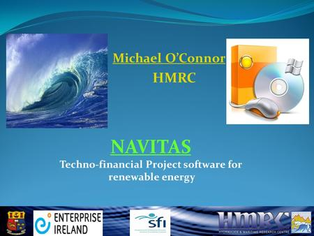 NAVITAS Techno-financial Project software for renewable energy Michael O'Connor HMRC.