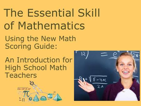 The Essential Skill of Mathematics