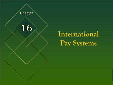 McGraw-Hill © 2005 The McGraw-Hill Companies, Inc. All rights reserved. 16-1 International Pay Systems Chapter 16.