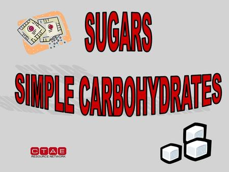 WHY do I need to understand the FUNCTIONS of CARBOHYDRATES? Most food mixtures contain carbohydrates so it is vital to understand how they work in the.