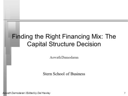 Factors that Influence a Company's Capital-Structure Decision