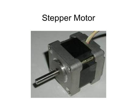 Stepper Motor. Stator Rotor Full Stepping Energizing one coil at a time is known as running the motor in 'full steps'. In a 200 step motor, this.