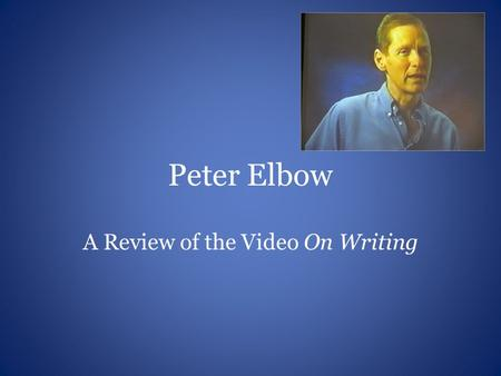 A Review of the Video On Writing