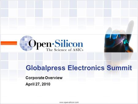 Globalpress Electronics Summit