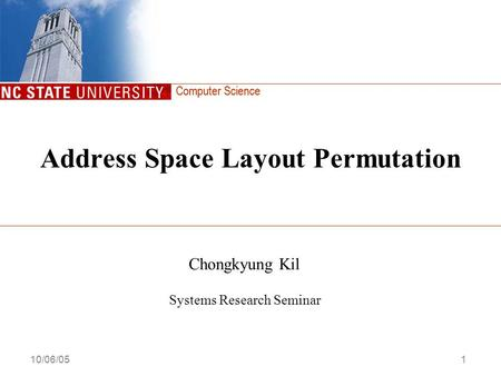 Address Space Layout Permutation