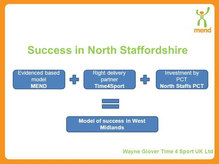 Success in North Staffordshire