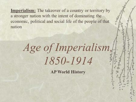 history nationalism imperialism etc Therefore, nation- states were a modern result of the rise of nationalism in  europe  administration, standard weights and measures, currency, national  language, etc  competing with one another even more and led to the rise of  imperialism.