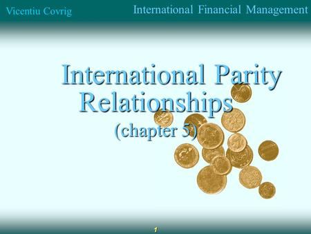 international parity conditions