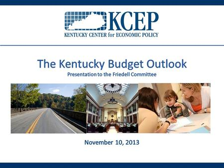 Source: KCEP analysis of Office of the State Budget Director data, Consensus Forecasting Group October Estimate.