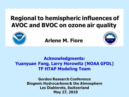 Regional to hemispheric influences of