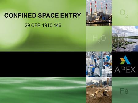 CONFINED SPACE ENTRY 29 CFR 1910.146.