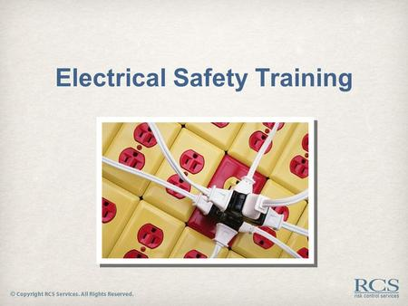 Electrical Safety Training. Electrical Hazards  Every year, between 300 and 500 people in the U.S. are killed by electrocutions at work.  Many of those.