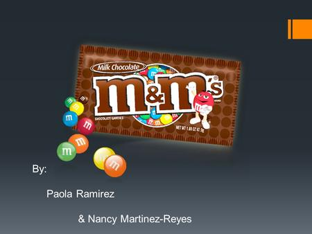 By: Paola Ramirez & Nancy Martinez-Reyes. Marketing Strategies  Despite the M&M brand's successful history and classic marketing strategy, they seem.