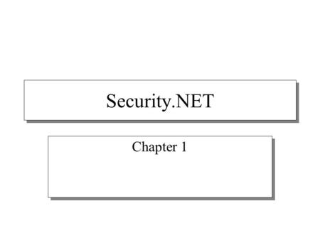 Security.NET Chapter 1. How Do Attacks Occur? Stages of attack Examples of attacker actions 1. FootprintRuns a port scan on the firewall 2. PenetrationExploits.