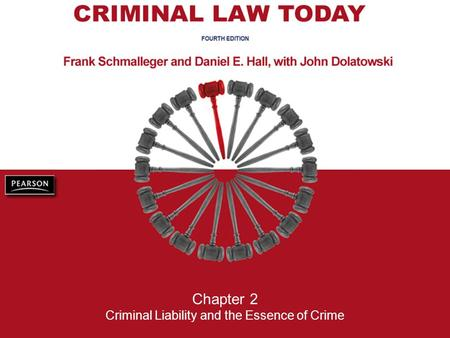 Chapter 2 Criminal Liability and the Essence of Crime