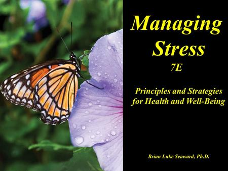 Principles and Strategies for Health and Well-Being