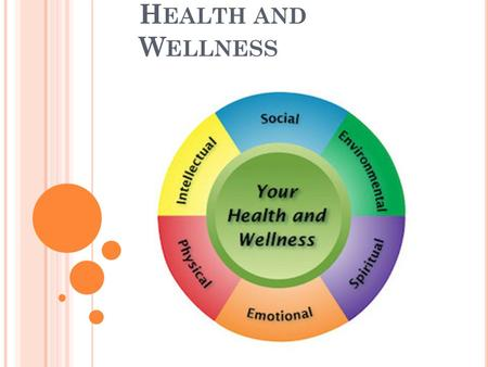 Decisions for Health Textbook HEALTH and WELLNESS. - ppt download