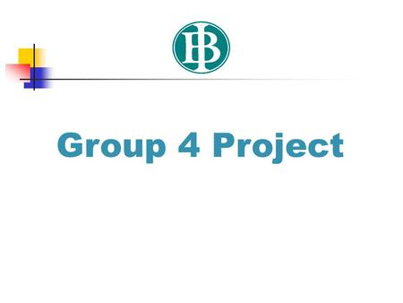 Group 4 Project.