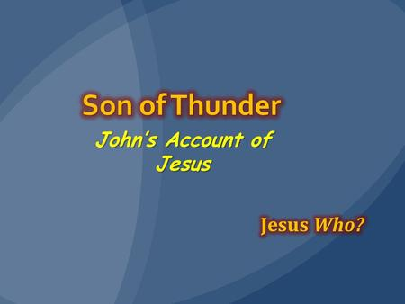 John's Account of Jesus. Review After Jesus loses the crowd and most of his disciples, his brothers mock him and challenge him to face death.