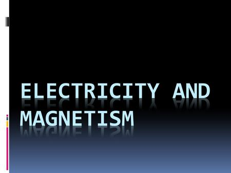 ELECTRICITY  Is a basic feature of matter that makes up everything in the universe. When most people hear electricity, they think of lights, television,