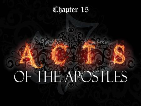 Chapter 15. Conflict inevitable within a group - national (Jesus vs. Israel) - familial (Jesus vs. Nazareth) John 7 43 So there was a division among the.
