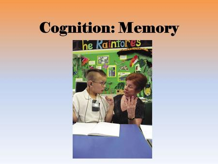 Cognition: Memory. The Phenomenon of Memory Introduction Memory Extremes of memory.