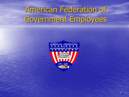 1 American Federation of Government Employees. 2 AFGE & Your Job Congress wants to privatize Federal jobs. Your job as a federal employee is in jeopardy.