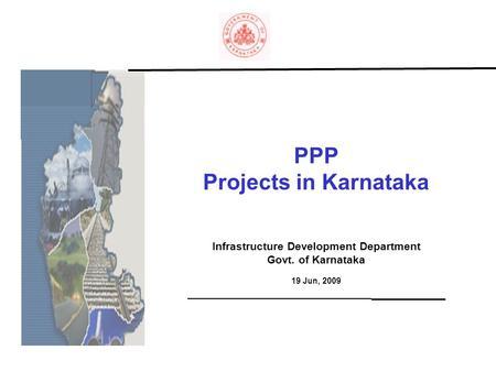 PPP Projects in Karnataka