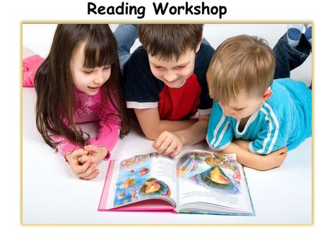 Parents' workshopPare Mr Martin and Miss Richter Reading Workshop.