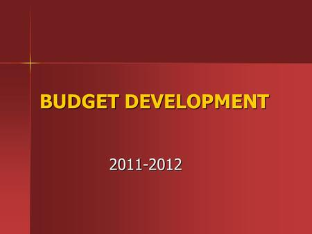 BUDGET DEVELOPMENT 2011-2012. OUR MISSION The Jamesville-Dewitt Central School District has an uncompromising commitment to excellence in preparing students.