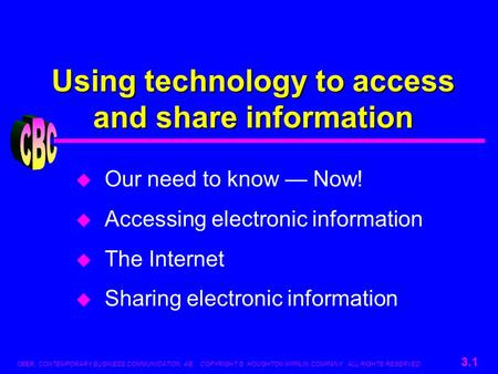 Using technology to access and share information