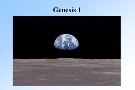 Genesis 1. Gen. 1:20-23 And God said, Let the water teem with living creatures, and let birds fly above the earth across the expanse of the sky.
